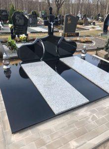 kapų tvarkymas - kapų dengimas plokštėmis 2