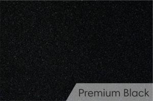 Kapų tvarkymas - kapū plokštės - granitas - Premium Black