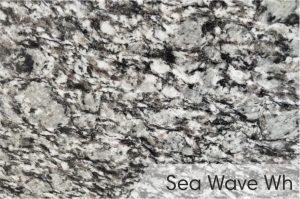 Kapų tvarkymas - kapū plokštės - granitas - Sea wave white