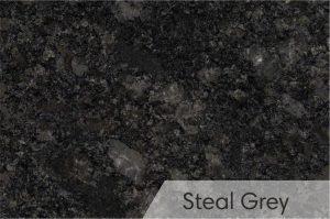 Kapų tvarkymas - kapū plokštės - granitas - steal grey