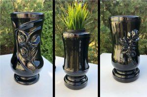Kapų vazos - kapų žvakydės