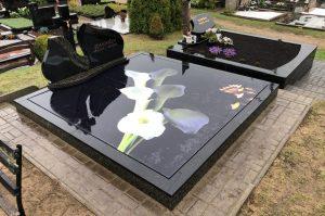 Stikliniai 3D Antkapiai - kapų tvarkymas - kalijos 3