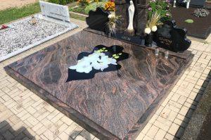 Stikliniai 3D Antkapiai - kapų tvarkymas - kapų plokštės