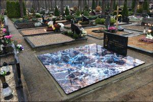 Stikliniai 3D Antkapiai - kapų tvarkymas - kapų plokštės 3